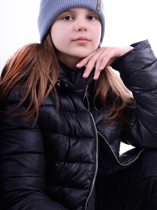 Европуховик LUXIK teenager черный j29