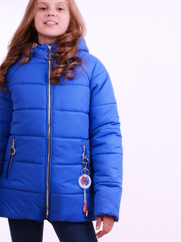 Удлиненная куртка LUXIK электрик k35