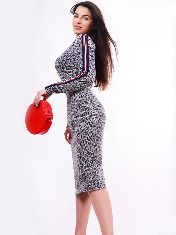 Knitted dress S85