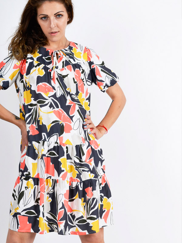 Сукня з квітковим принтом S55