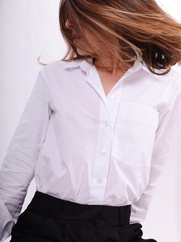 Базова бавовняна сорочка B56