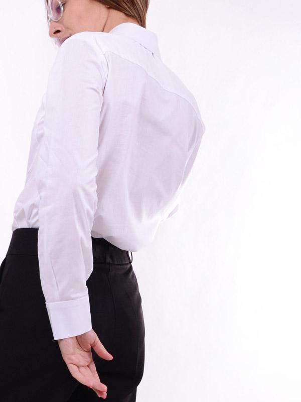 Базовая хлопковая рубашка B56
