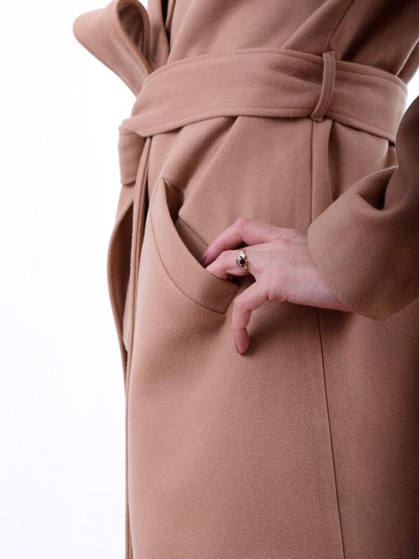 Cashmere oversize coat