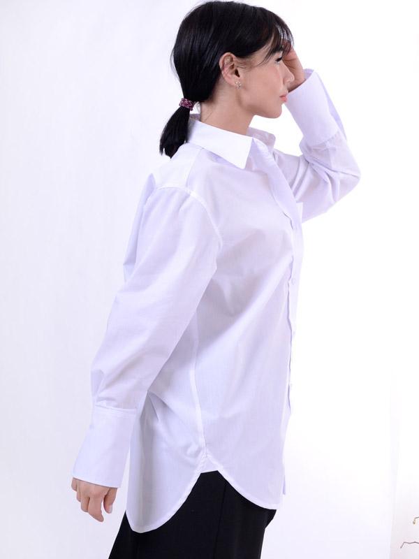 Long oversized shirt