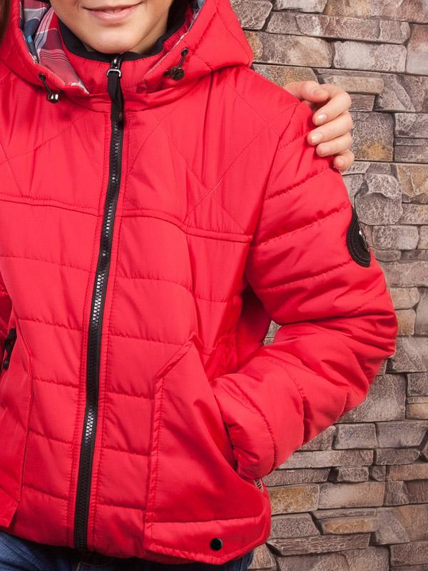 Jacket LUXIK red k06