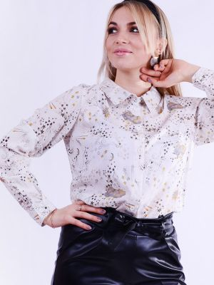 Blouse with astronomical print B69