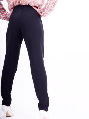 Suit pants with tucks B59